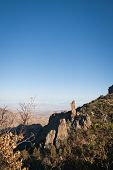 The boot in the Chisos Mountains