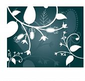 winter foliage vector