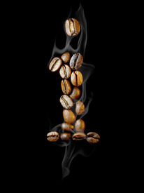 picture of alphabet letters  - Coffee letter - JPG