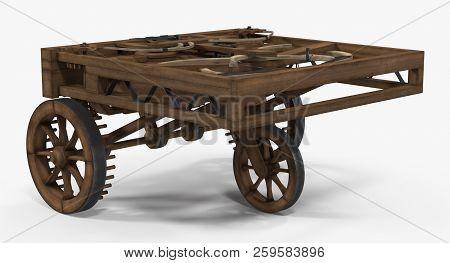 Leonardo Da Vinci Automobile On