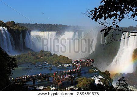 Iguazú Falls Or Iguacu Falls
