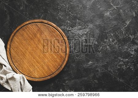 Wooden Cutting Board Or Pizza