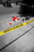 OH MY GOD! Someone SHOT SANTA CLAUS in a Drive By Shooting!  Santa Claus falls victim to violence an