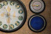 Astronomical clock from the Communist Era in Olomouc, Czech Republic