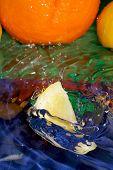 image of crown green bowls  - Splash with fresh mandarin - JPG