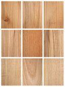 verschiedene Holz Texturen