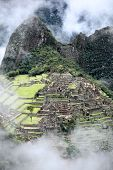 Ancient Inca lost city Machu Picchu, Peru.