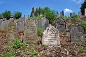 Ancient jewish cemetery from 15th century