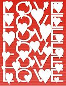 Love & Hearts Background