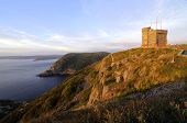 Sunrise At Signal Hill St John's Newfoundland