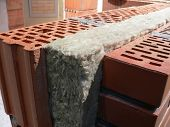 Heat isolation material - Stone wool