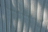 Gray Background Of Cloth From A Piece Of Crumpled Cloth Woolen Clothes poster