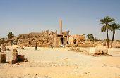 View of Karnak Temple, Luxor, Egypt