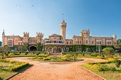 The Bangalore palace in windsor castle stile , southern Karnataka, India