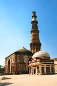 Muslim Column, Qutb Minar, new Delhi, India.