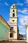 El campanario del Museo Nacional de la Lucha Contra Bandidos. Fue Convento de San Francisco