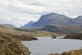 Loch Kernsary in North West Scotland