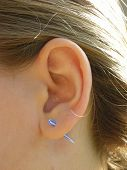 Acrylic Ear Stretching Taper poster