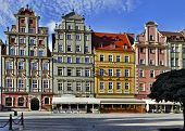 Old Houses In Wroclaw