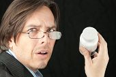 foto of bifocals  - Close - JPG