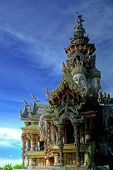Attraction Pattaya-The Santuary Of Truth - Worship