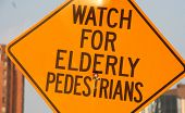 Watch For Elderly Pedestrians