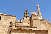 pic of senora  - Monasterio de nuestra Senora Santa Maria de las Cuevas better known as Monasterio de la Cartuja was built by Cartusian monks in the 15th century on the isle of Cartuja on river Guadalquivir in the surroundings of Seville - JPG