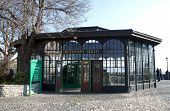 Funicular Cable Railway In Budapest