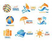 pic of dauphin  - Collection of Travel and Beach Icons - JPG