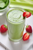 Smoothie verde vegetal