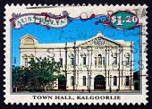 Postage Stamp Australia 1992 Town Hall, Kalgoorlie