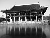 image of andong  - gyeonghoeru pavilion in royal palace in seoul - JPG
