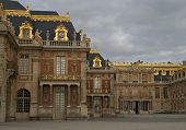stock photo of versaille  - Versailles palace in Versailles - JPG