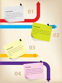 Business Infographics With Notes