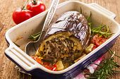 picture of hari  - stuffed eggplant - JPG