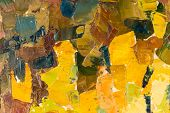 Abstract colorful background oil painting on canvas.