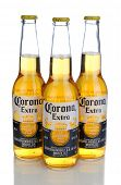 IRVINE, CA - JANUARY 11, 2013: Photo of a 12 ounce bottle of Corona Extra Beer. Corona, produced by