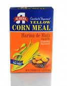 IRVINE, CA - JANUARY 11, 2013: A 20 oz box of Albers Yellow Corn Meal. Introduced in 1895 by Bernhard Albers, a young German immigrant, in Portland Oregon.