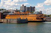 Docked Staten Island Ferry