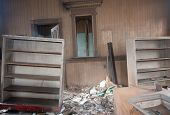 Broken Furniture In A Trashed Room