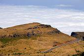 Beautiful green mountains of Madeira island, Portugal