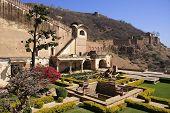 Courtyard Garden, Bundi Palace, India