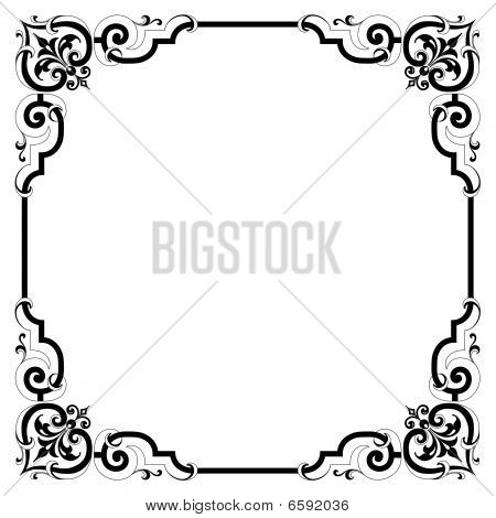 vintage victorian style several colors and styles available in galleryVictorian Style Borders