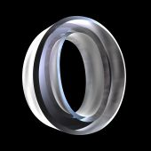 símbolo de Omicron em vidro (3d)