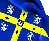 Flag Of Durham County Council