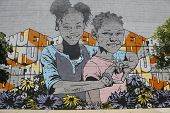 Mural at East Williamsburg in Brooklyn