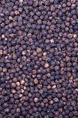 Black Pepper As Whole Background