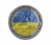 Постер, плакат: Euro Coin 2 Euro