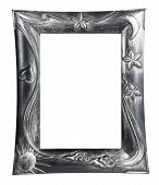 Photo Frame And Painting Isolated