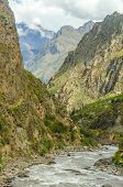 Peru, Sacred Valley, Urubamba river